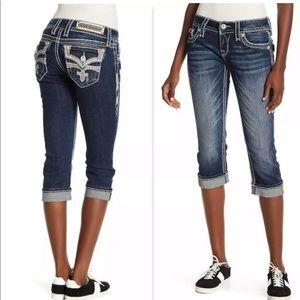 Rock Revival Capris Jeans Size 27 28 29 30 31 32